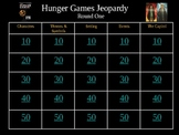 Hunger Games Final Review Powerpoint -Round 1
