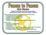 """""""Hunger Games"""" Panem to Panem, game similar to Apples to Apples"""