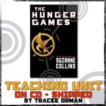 Hunger Games Teaching Unit CD Lessons, Quizzes, Tests, Activities