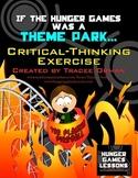 Hunger Games Theme Park Creative Common Core Activity