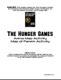 Hunger Games Trilogy Map of Panem Arena and Capitol Activities