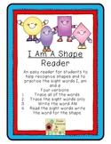 I Am A Shape Emergent Reader