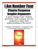 I Am Number Four - Novel Response / Chapter Worksheets
