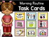 """""""I Can Have a Marvelous Morning"""" Routine Task Cards"""