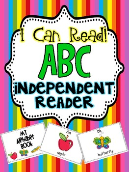 I Can Read! Independent Reader {ABC}