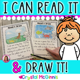 I Can Read It, I Can Draw It! Reading Comprehension Passag