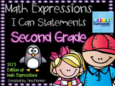 I Can Statements/Learning Targets for Math Expressions Com