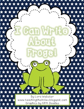 I Can Write About Frogs!