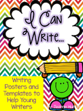 I Can Write: Writing Posters and Templates