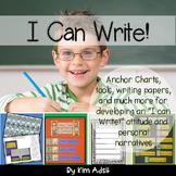 Writer's Workshop: Units 1-3 I Can Write by Kim Adsit alig