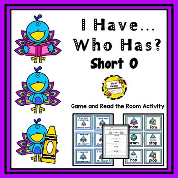 I Have, Who Has and Read/Write The Room Activities (Short O)