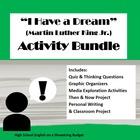 """I Have a Dream"" Speech Activity Bundle (Martin Luther Kin"
