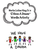 """""""I Have a Dream"""" Wordle Activity"""