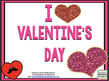 I Heart Valentine's Day! A Math & Literacy Creation