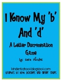 I Know My 'b' and 'd'! {A letter discrimination game}