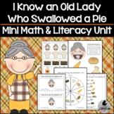 I Know an Old Lady Who Swallowed a Pie Mini Math and Liter