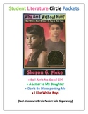 I Like White Boys by Sharon G. Flake Literature Circle Packet