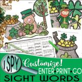 I Spy Sight Words ~St. Patrick's Day Edition~