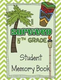*I Survived 5th Grade* End of Year Memory Book for Big Kids