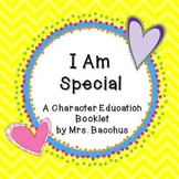 """I am Special"" Character Education Booklet Pages"