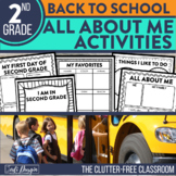 I am a Second Grader: A 10-Page, No Prep, Back-to-School A