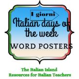 I giorni della settimana / Days of the Week in Italian Wor