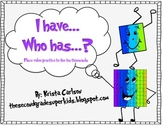I have...Who has...?- Place Value Game (English/Spanish)