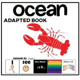 I see How Many? Color? What? Ocean Adapted Book Special Ed