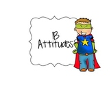 IB Attitudes Signs Superhero Themed