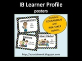IB Learner Profile Posters (Polkadot)