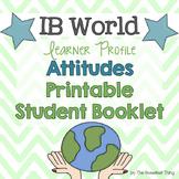 [IB Learner Profile Attitudes] Booklet, Rubric