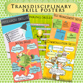 IB Transdisciplinary Skill Posters for A4 Paper