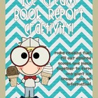Ice Cream Book Report Freebie!