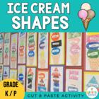 Ice-Cream Shapes - Freebie