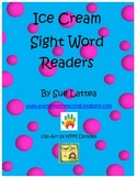 Ice Cream Sight Word Readers
