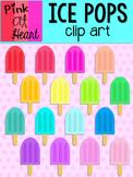 Ice Pops Clip Art