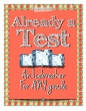 "Icebreaker ""Already a Test!"" Get to Know Your Teacher"