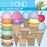 Ice Cream / Icecream Pile Up! - Ice Cream Graphics / Clipart