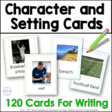 Ideas for Writing: Character and Setting Picture Cards