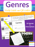 Identifying Genres Foldable Study Guide with QR Codes {Lin