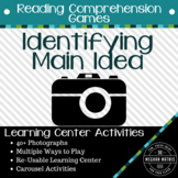 Identifying Main Idea - Learning Center and Class Activity