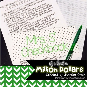 If I Had a Million Dollars Project (Financial Literacy and Budgeting)