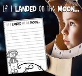 If I Landed On The Moon {Writing Craftivity}