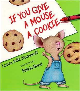If You Give a Mouse a Cookie Writing Pattern Booklet for Students