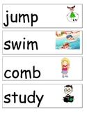 Illustrated Action Verbs