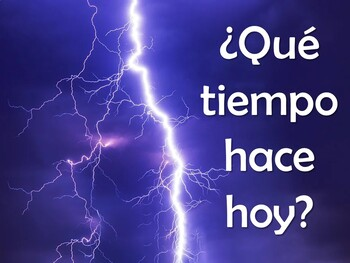 Illustrated Weather Power Point in Spanish