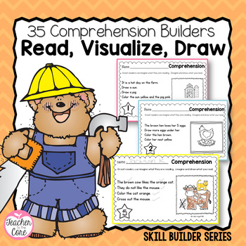 35 Comprehension Builders for Beginning Readers- Building Mental Images