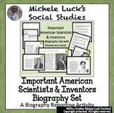 Important American Scientists & Inventors Biography Center