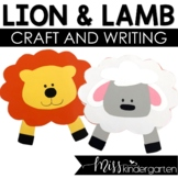 In Like a Lion, Out Like a Lamb- Craft and Writing Templates