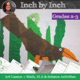 Inch by Inch Art Lesson and Video with measuring and scien